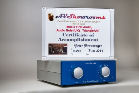 Awards | Music First Audio Transformers and Amplifiers for