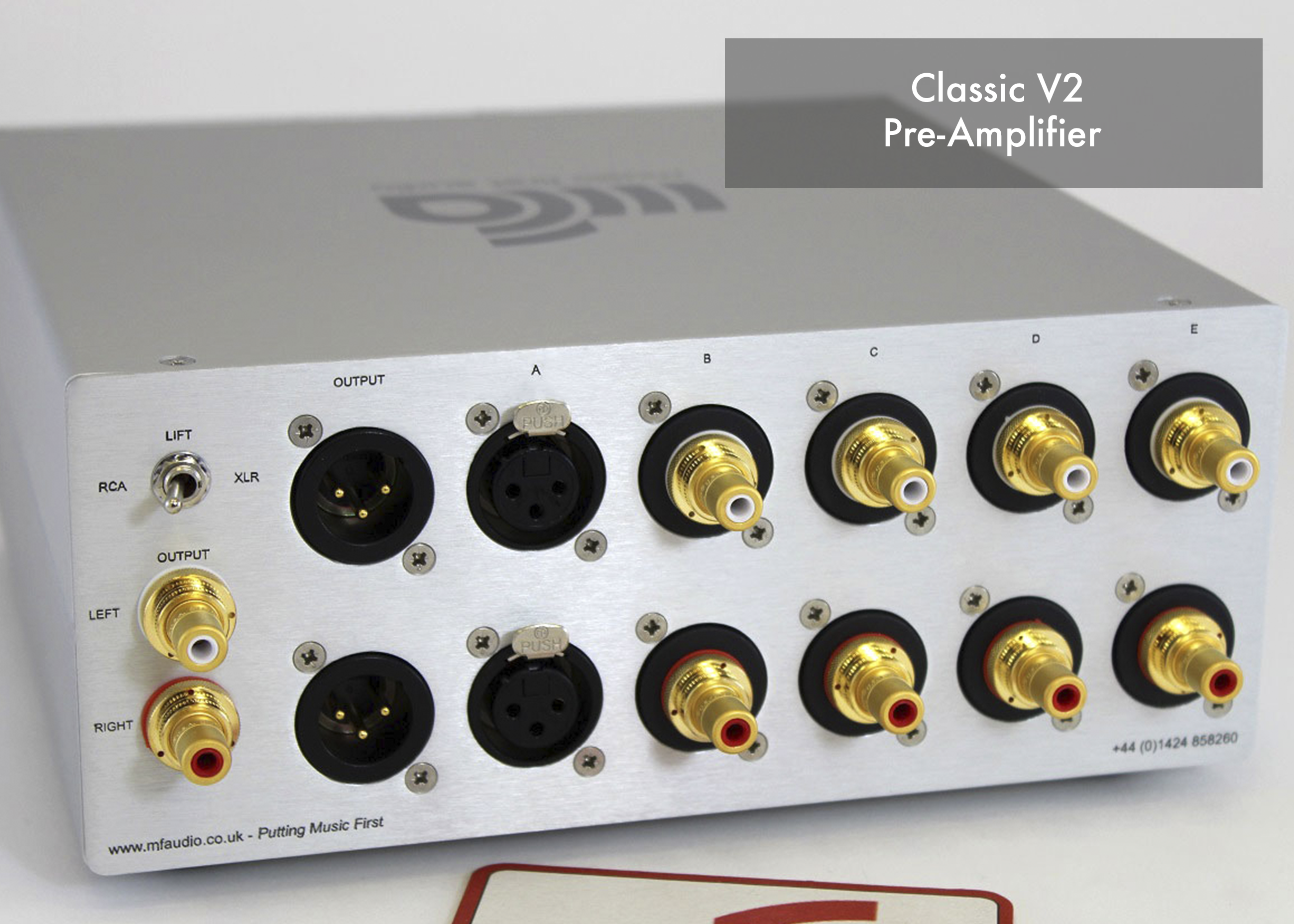 Music First Audio Preamplifier Input From Moving Coil Head The Classic Pre Amplifier Was Introduced In 2003 And Positioned Itself At Very Heart Of A True High End Hi Fi Systems